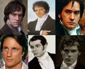 The many handsome men who have played Mr. Darcy