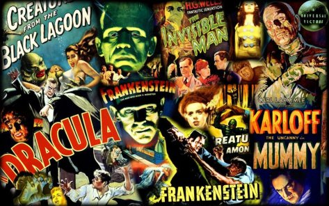 Universal Monster Movie Horror