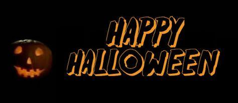 Happy Halloween jack-o-lantern