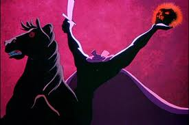 Ghosts are bad, but the one that's cursed, Is the Headless Horseman; he's the worst!