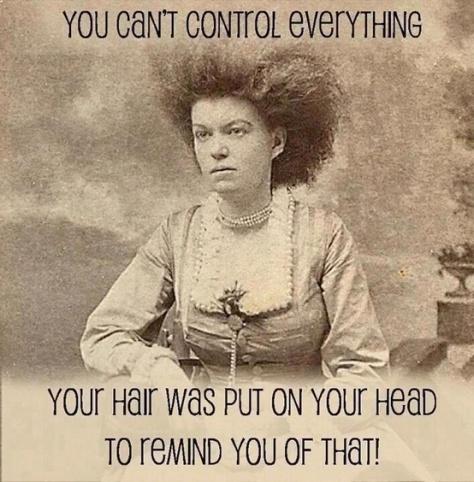 hair no control