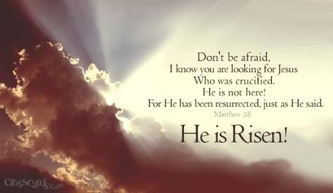 heisrisen Easter Jesus