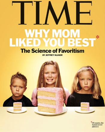 parental favoritism The american science writer has just published a book in which he argues that,  whether we admit it or not, parental favouritism is hard-wired.