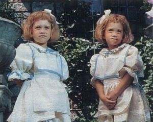 Agatha & Sophia as children