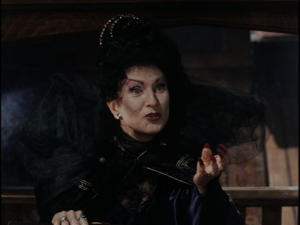 I'm mean and nasty Aunt Agatha