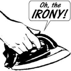 the irony iron
