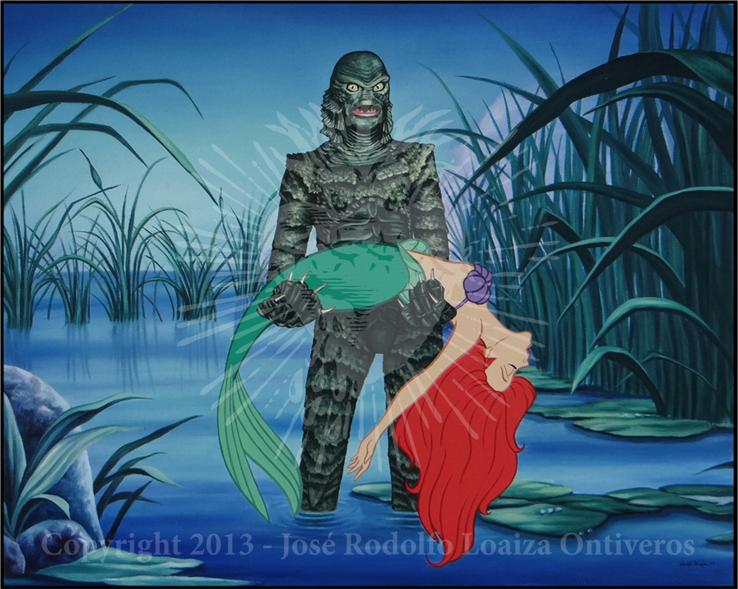 There Are Many Strange Legends In The Amazon The Creature