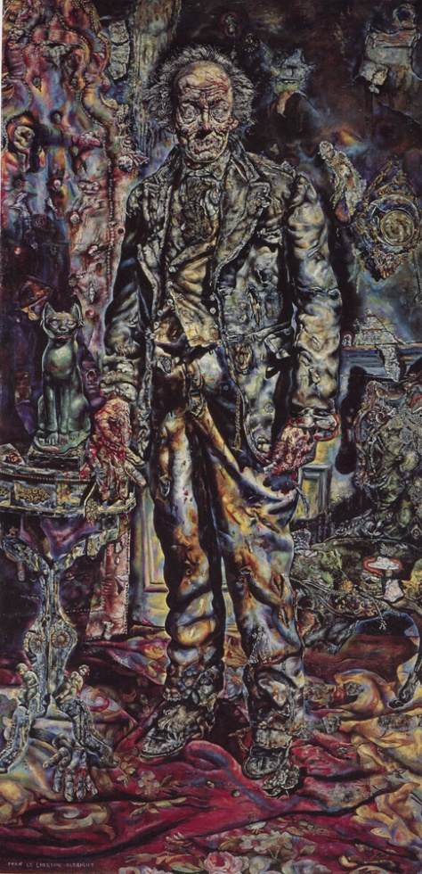 Ivan Le Lorraine Albright's famous painting of the decayed Dorian Gray - which took approximately one year to complete - is now owned by the Art Institute of Chicago, where it has been on display for many years.