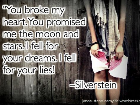 you broke my heart silverstein