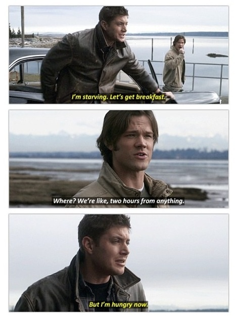 StarvingHungryFoodNowSupernatural