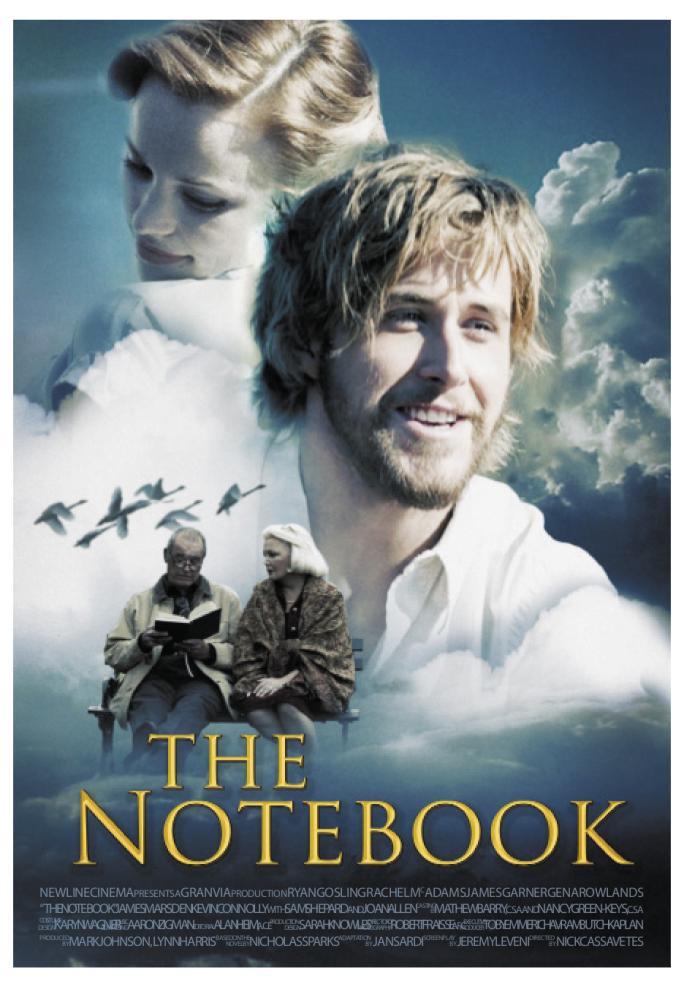 ผลการค้นหารูปภาพสำหรับ the notebook 2004