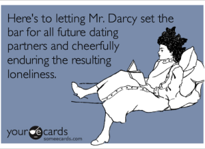 Mr.Darcy & Dating