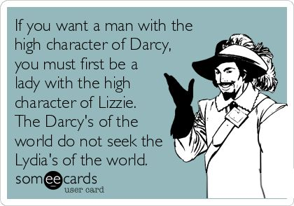 If you want a Darcy