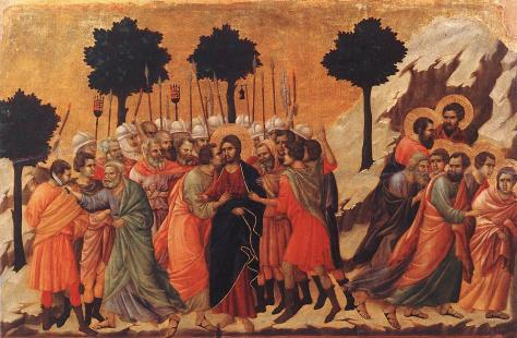 Betrayal of Christ Duccio
