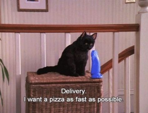 Pizza Delivery Sabrina the teenage witch