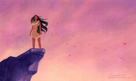 pocahontas_on_the_cliff_by_reginaac57-d6l5111