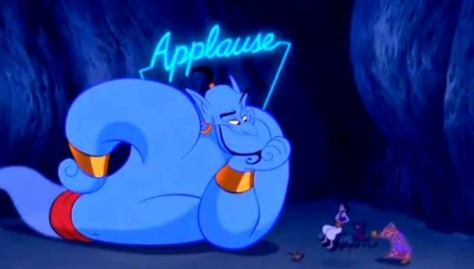 Aladdin genie
