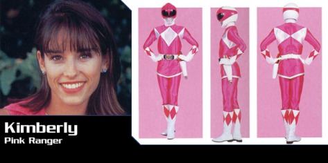 pink ranger kimberlypowerrangers