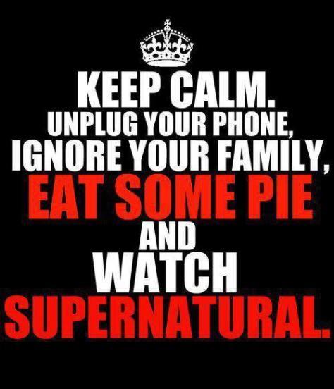 Pie&Supernatural&Dean