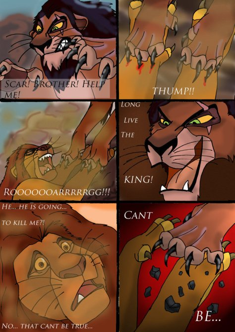 The lion king_death_of_mufasa__comic_page_1_by_wolfmarian-d4sc6so