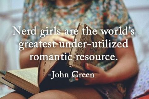 Nerd Girls John Green