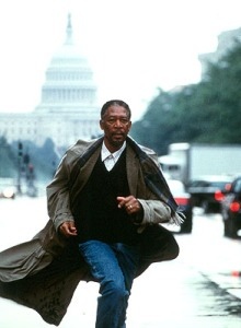 Along came a spider morgan freeman running