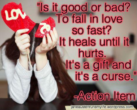 ActionItem brokenhearted