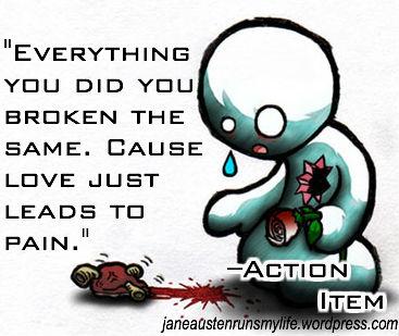 ActionItem broken heart