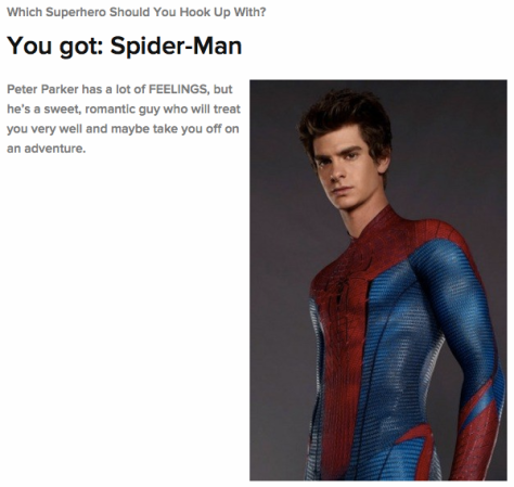 To see who should be your superhero BF click here.