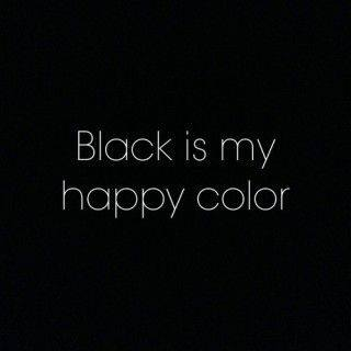 woman in black quotes
