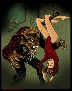 I was aTeenage_Werewolf_by_BryanBaugh