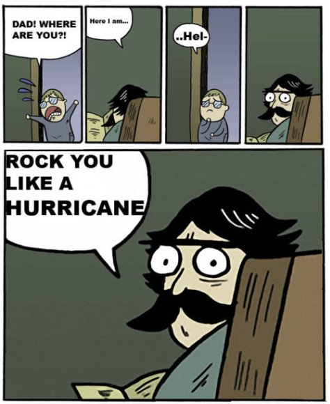 rock you like a hurricaine