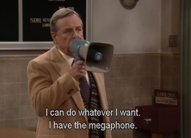 Boy Meets World Mr. Feeny I have a megaphone