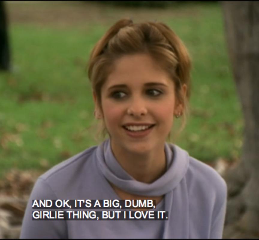 girlieButLoveit BuffyVS