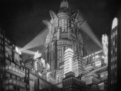 Metropolis city
