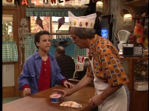 Boy Meets World Yogurt Wolf