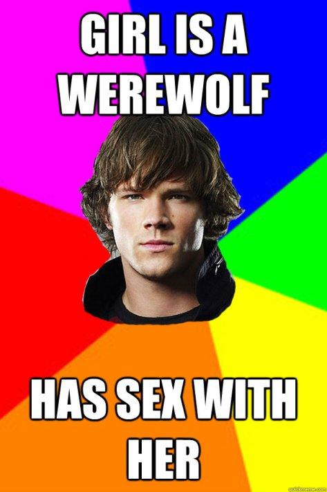 Sam Winchester Werewolf