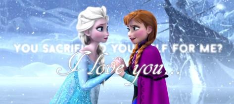 Frozen Sacrifice self love you sisters