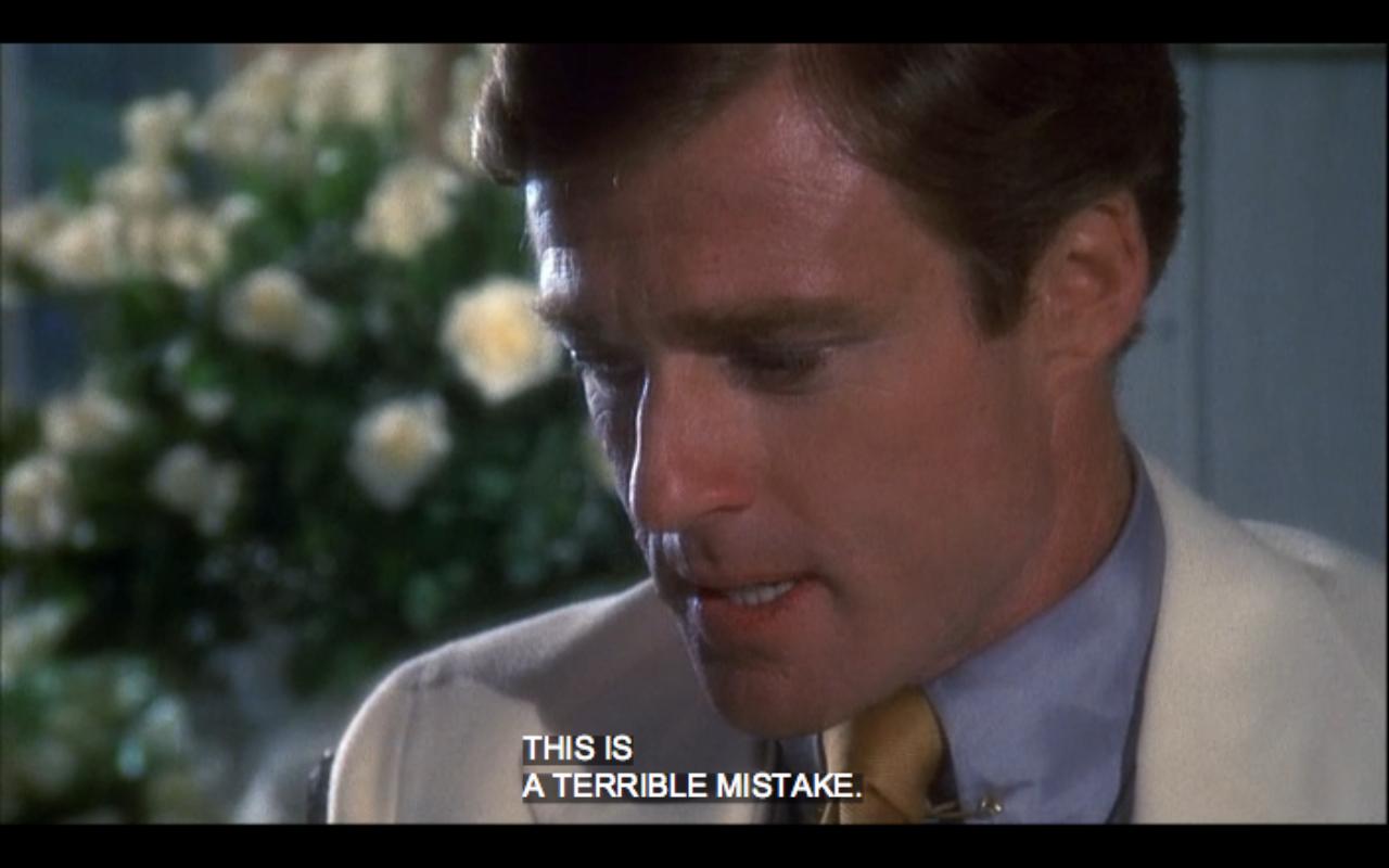 Mistake Great Gatsby