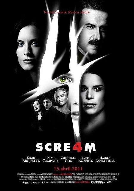 Scream 4 / Scre4m Jill's (Emma Roberts) Bloody ghostface knife ...