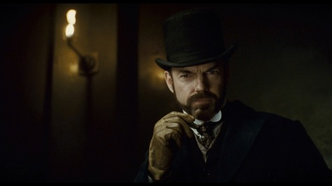 wolfman 2010 inspector abberline hmm i've almost got it hugo weaving
