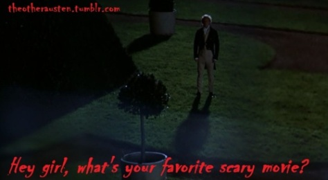 scary movie mansfield park Scream