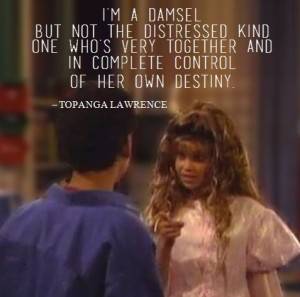 BoyMeetsWorld Topanga Damsel in distress not distress