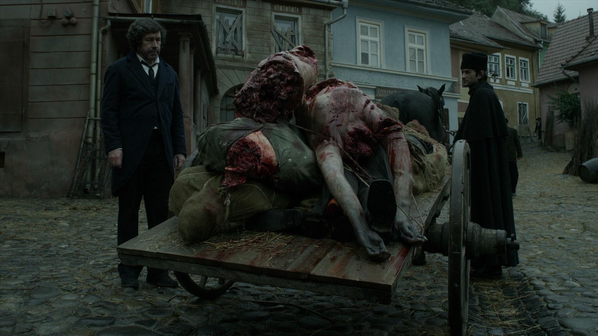 wolfman dead bodies lots cart