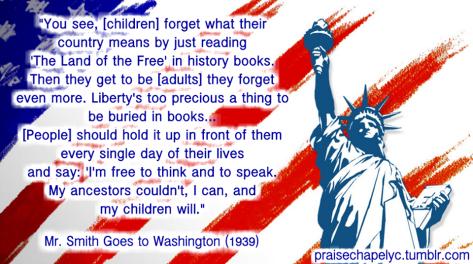 freedomlibertyneverforgetMrSmithgoestowashington