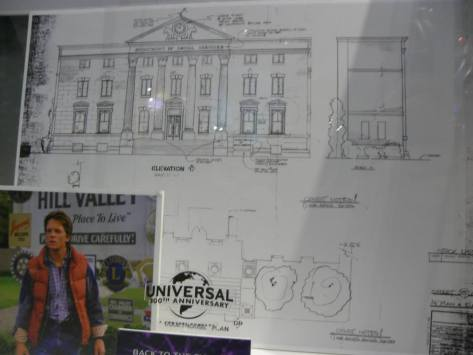 BacktotheFuture clock tower blueprints
