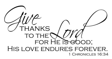 give-thanks-to the lord 1 chronicles 16:334