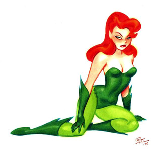 poisonivy DC comics
