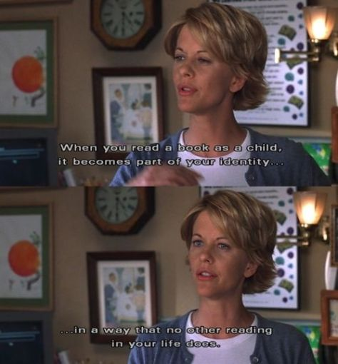 readingabkkid impression identity a part of us You've got mail meg ryan