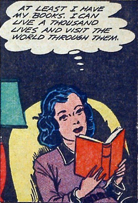 booksreadthousandlifetimeslivethroughthem